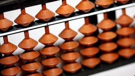 Japanese abacus