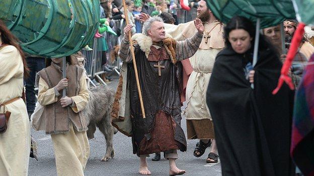 Downpatrick parade