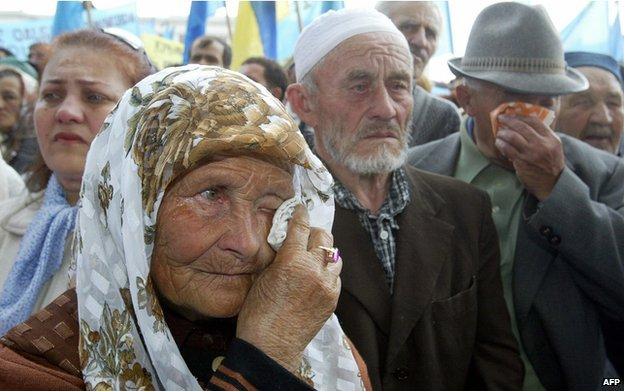 Tatars in Crimea