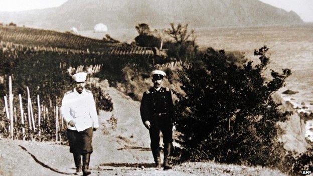 Nicholas II in Massandra