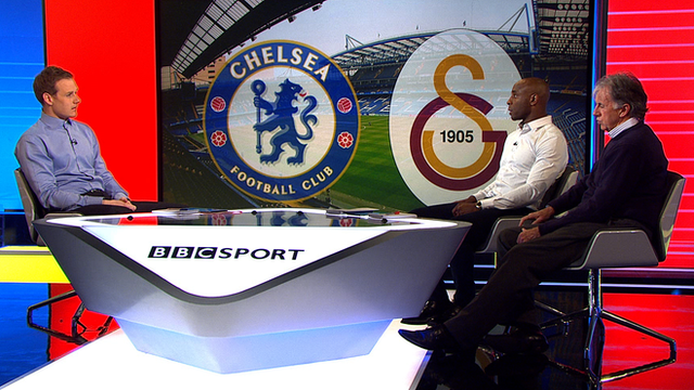 Dan Walker, Jason Roberts and Mark Lawrenson discuss Chelsea v Galatasaray
