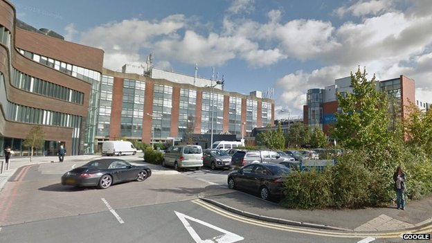 Christie Hospital in Withington
