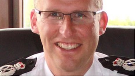 Chief Constable Simon Cole