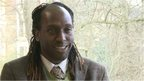 Kei Miller, interview with students