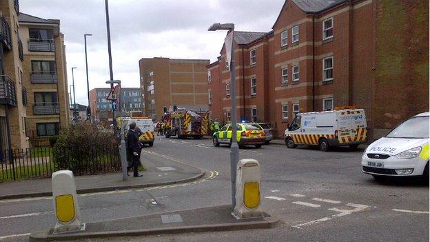 Derby gas explosion