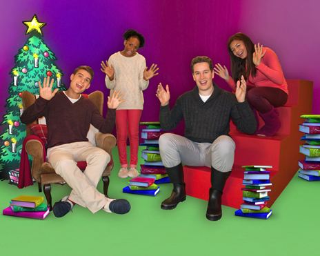 Presenters of CBeebies programme Magic Hands