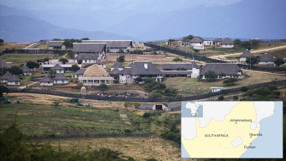How President Zuma's Nkandla home has grown - Africlandpost