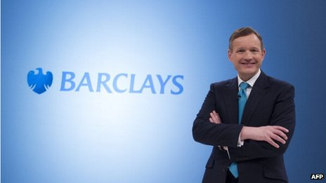 Barclays chief executive, Antony Jenkins