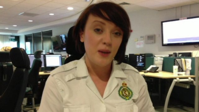 Jess, emergency ambulance call handler