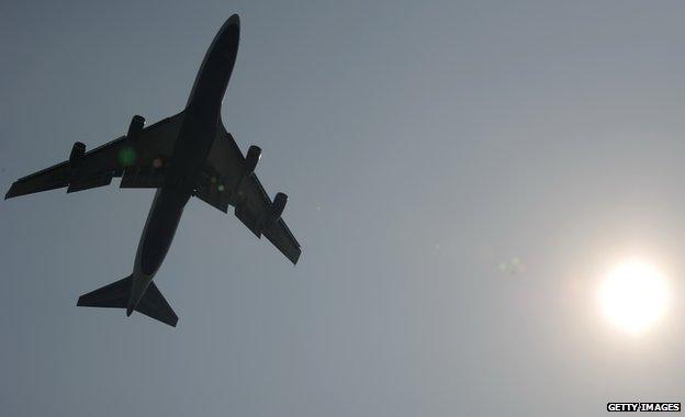 Generic Singapore Airlines plane