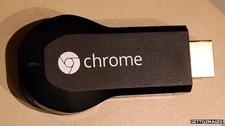 Google Chromecast, an HDMI attachment