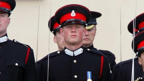 Prince Harry at Sandhurst