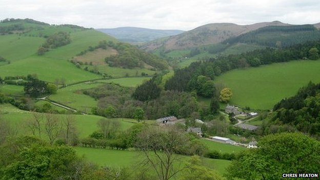 Eglwyseg Valley