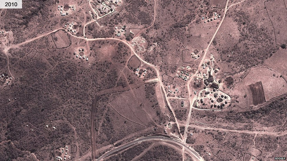 Nkandla in 2010