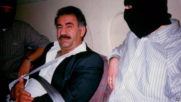 PKK leader Abdullah Ocalan - 1999 pic after his capture