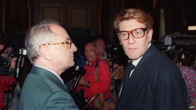 Pierre Berge, Yves Saint Laurent