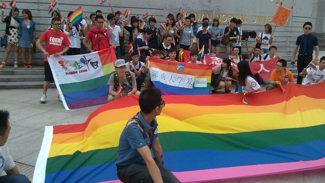 Gay and lesbian activists hold public even in Hunan