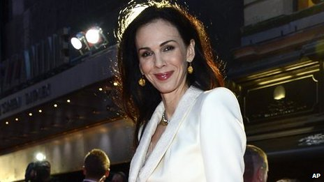 L'Wren Scott at the London Film Festival American Express Gala on 18 October, 2012.