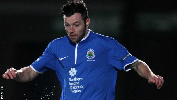 Ivan Sproule of Linfield