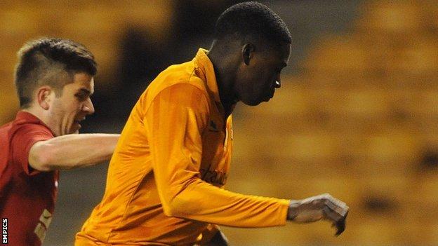 Wolves defender Dominic Iorfa