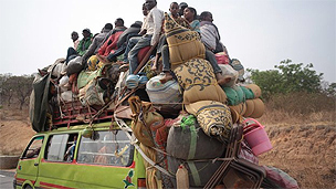 Muslims flee to Cameroon