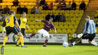 Livingston v Hearts at Almondvale