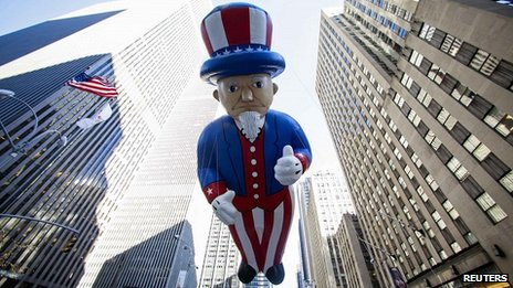 An Uncle Sam balloon