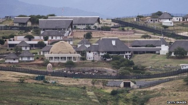 Home of Jacob Zuma in Nkandla
