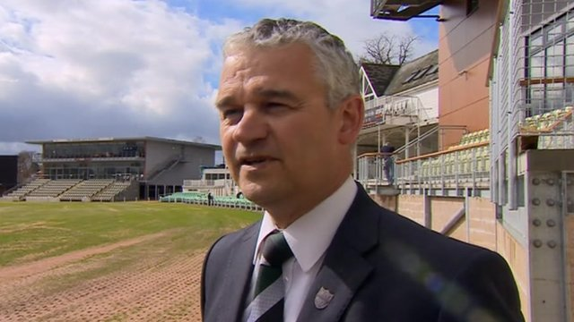 Worcestershire CEO David Leatherdale