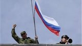 Russian flag is raised over Sevastopol base, Crimea (19 March 2014)