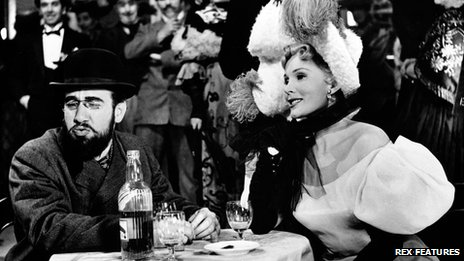 Jose Ferrer and Zsa Zsa Gabor in Moulin Rouge