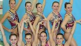 GB synchronised swimming squad