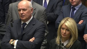 Work and Pensions Secretary Ian Duncan Smith and Minister for Disabled People Esther McVey
