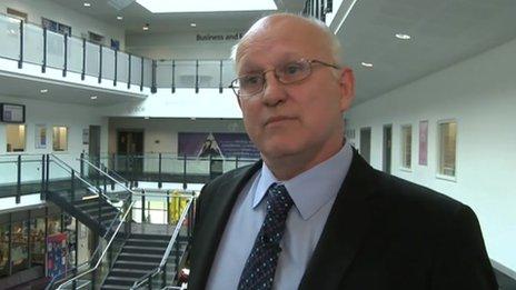 Interim principal Colin Boxall