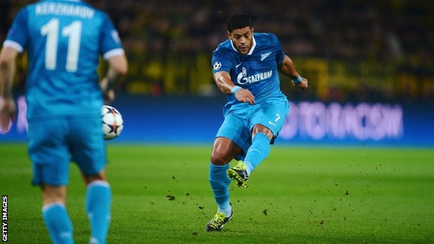 Hulk scores for Zenit