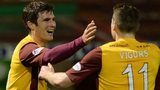 John Sutton and Iain Vigurs celebrate