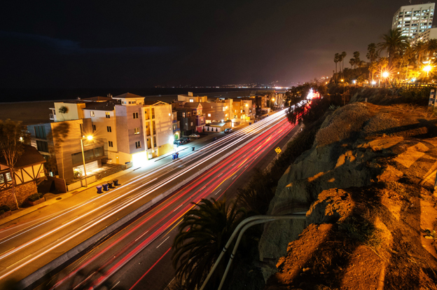 Santa Monica freeway