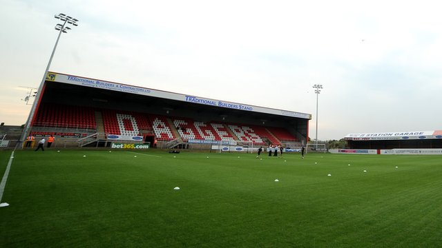 Dagenham's Victoria Road ground