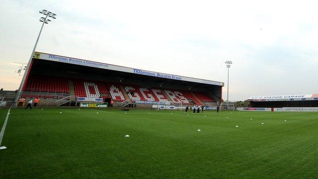 Dagenham's Victoria Road ground