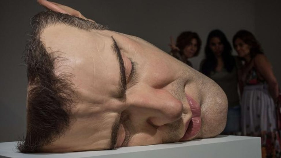 Mask II, by Ron Mueck