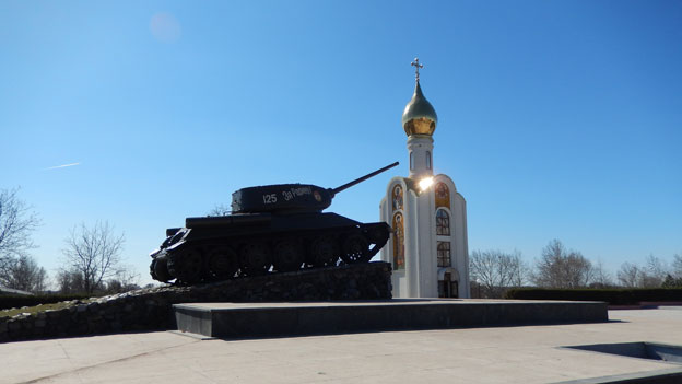 War memorial in Tiraspol, file pic