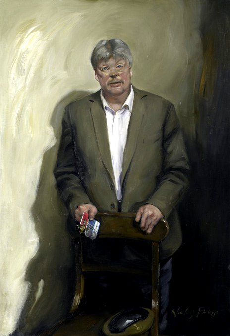 Simon Weston, by Nicky Philipps
