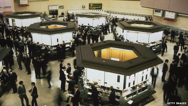 London Stock Exchange in the 1980s