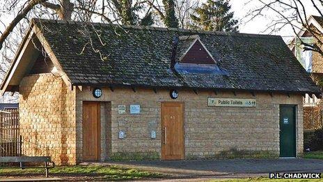 Public toilets, Station Lane, Witney, Oxon