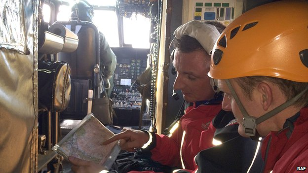Inside RAF search and rescue helicopter