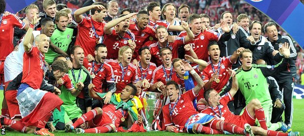 Bayern Munich are attempting to become the first side to defend the Champions League title
