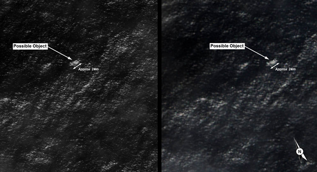 Objects picked up by satellite being investigated by Australia