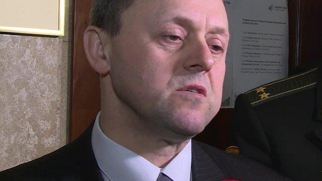Deputy Defence Minister Leonid Polyakov
