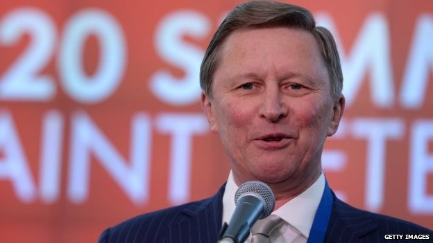 Sergei Ivanov (5 September 2013)