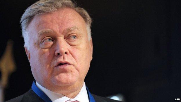 Vladimir Yakunin (28 November 2013)
